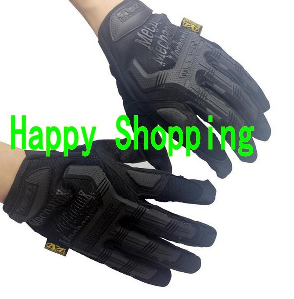 Mechanix M-Pact Military Tactical Airsoft Glove Racing Hunting Cycling Motorbike Bicycle Bike Full Finger Gloves S M L XL - amy song's store