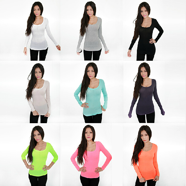Low Neckline Shirts Plunged Neckline t Shirts