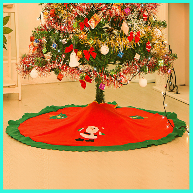 Christmas tree skirt home supplies hot sale diy