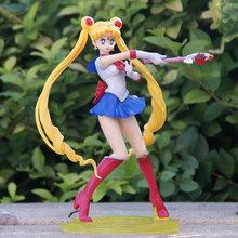 Mifen Craft Hot Anime Sailor Moon Figures S.H. Figuarts Super Sailor Moon PVC Action Figurine Model Doll Girl Kids toy 7.5″19cm