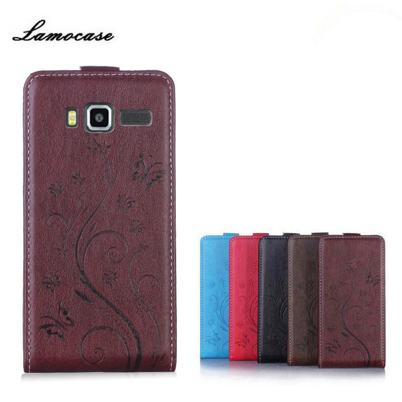 "Lamocase Case Lenovo A916 Case 5.5"" Luxury Print Flower Card Slot PU Leather Flip Cover Lenovo A916 916 Phone Case"