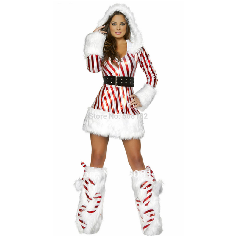 Christmas costumes for women santa claus costume sexy lingerie women