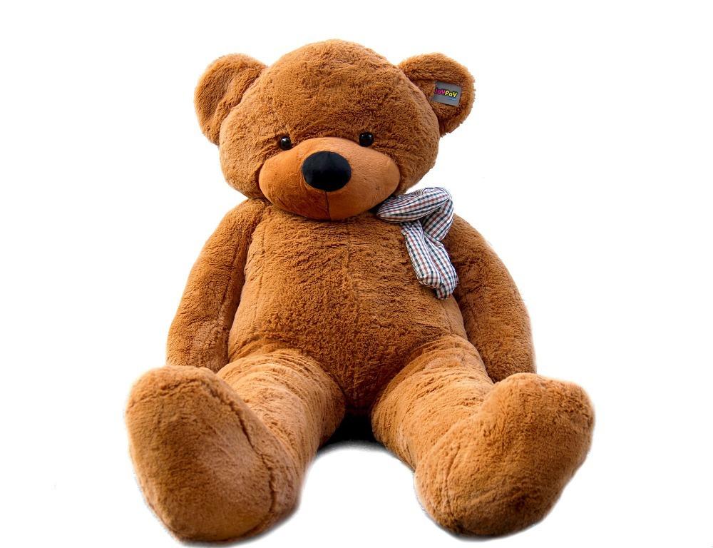 "Joyfay 78"" 200 cm Dark Brown Giant Teddy Bear Big Stuffed Plush Animal Huge Soft Toy Gift for Birthday Valentine Anniversary(China (Mainland))"