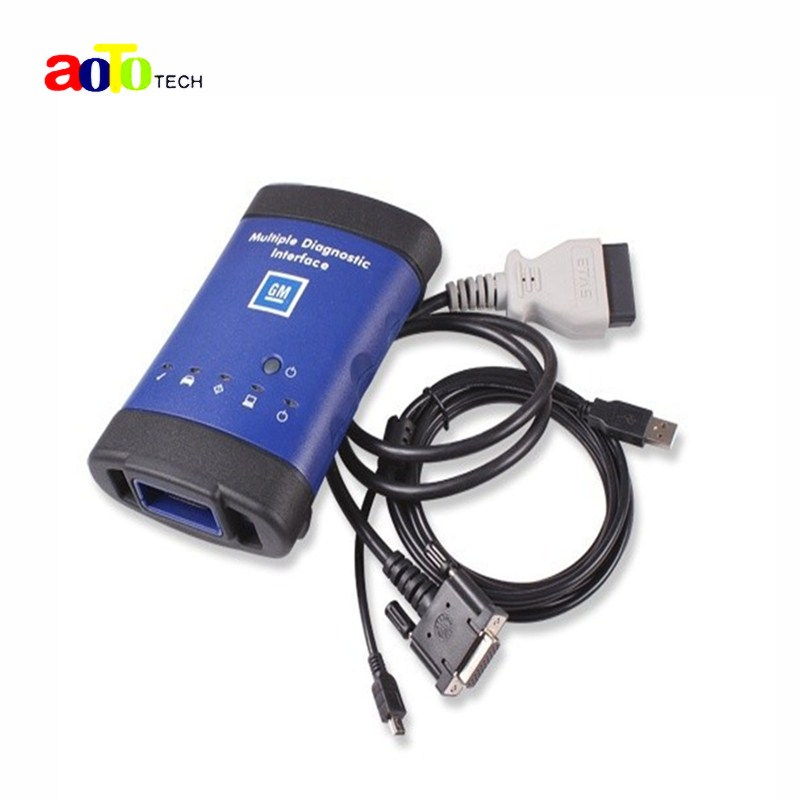 Top quality GM MDI Auto Scanner Multiple Diagnostic Interface MDI Car diagnostic tool work with TECH 2 + wifi without software(China (Mainland))