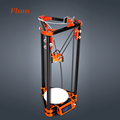 2016 Newest Aluminium Structure DIY 3d Printer Kit Kossel 3D Printer With Heated Bed 40m Filament