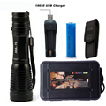 5000Lumens Flashlight LED CREE XM L T6 Torch Camping Light Zoomable Tactical Flashlight Lamp 1 18650