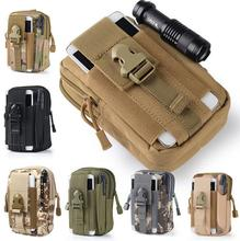 Tactical Molle bag Pouch Belt Waist Packs Bag Pocket Military Waist Fanny Pack Pocket for Iphone 6 6s 5s for Samsung Galaxy S6(China (Mainland))