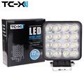 TC X LED Work Light 48W Square Offroad Led 12 24V Extra Light Portable Flood Light