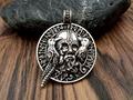 1pcs fashion necklace jewelry odin with ravens viking pendant viking amulet raven pendant norse jewelry odin