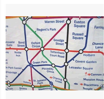 London Underground Shower Curtain Design Decoration