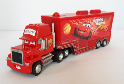 pixar cars 2 spielzeug big size mack lkw in autos 2 die. Black Bedroom Furniture Sets. Home Design Ideas
