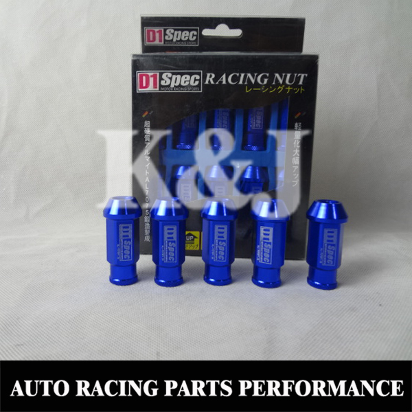K&J Performance D1 SPEC LIGHT WIGHT WHEEL RACING LUG NUTS P:1.5,L:52mm 9 colors KJ-D1NUTS-L1.5 - PERFORMANCE LTD.,CO store