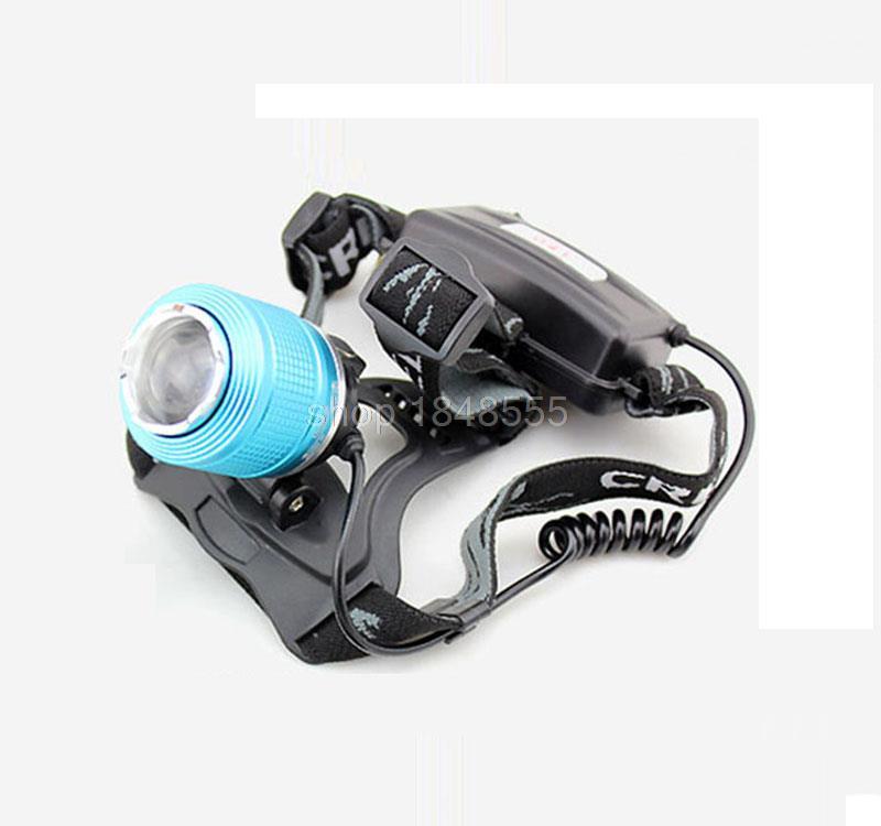Waterproof 2 Leds White Blue Headlamp Cree Q5 Headlight Torch Head Lamp  Head Light Flashlight Led Flashlight For Camping Hiking<br><br>Aliexpress