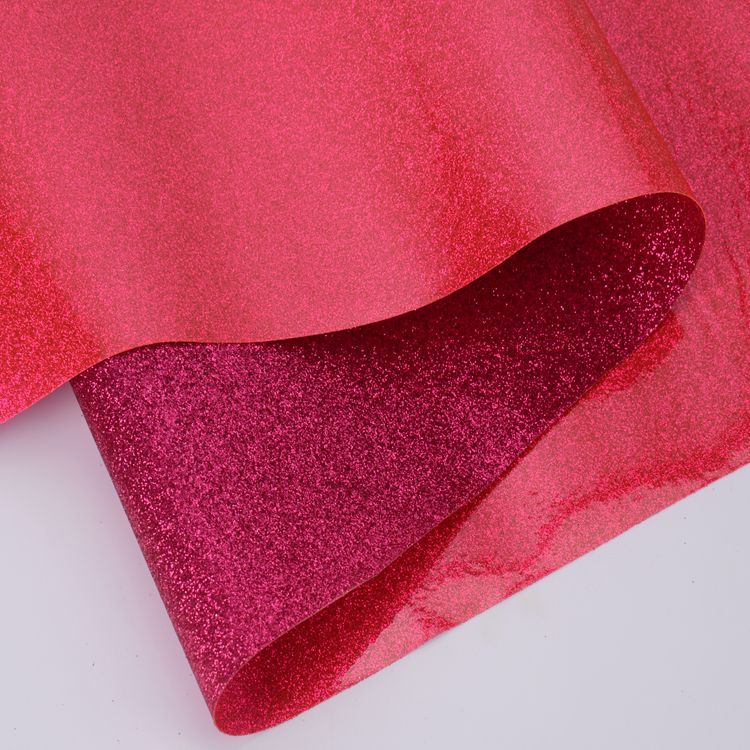 SELL glitter pvc vinyl fabric for embroidery