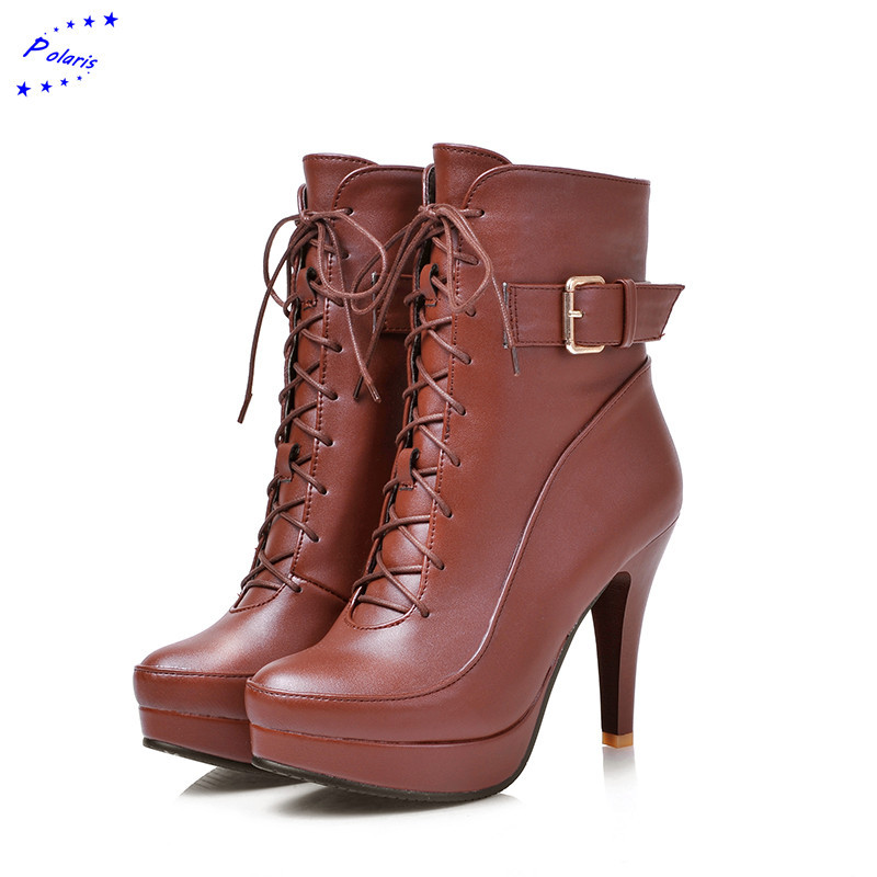 Plus Size 31 43! 2015 New Fashion Round Toe Ankle Square ...