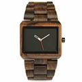 REDEAR Brand Fashion Men s Style Business Wood Watch Ebony Material Case Retro Classic Style Simple