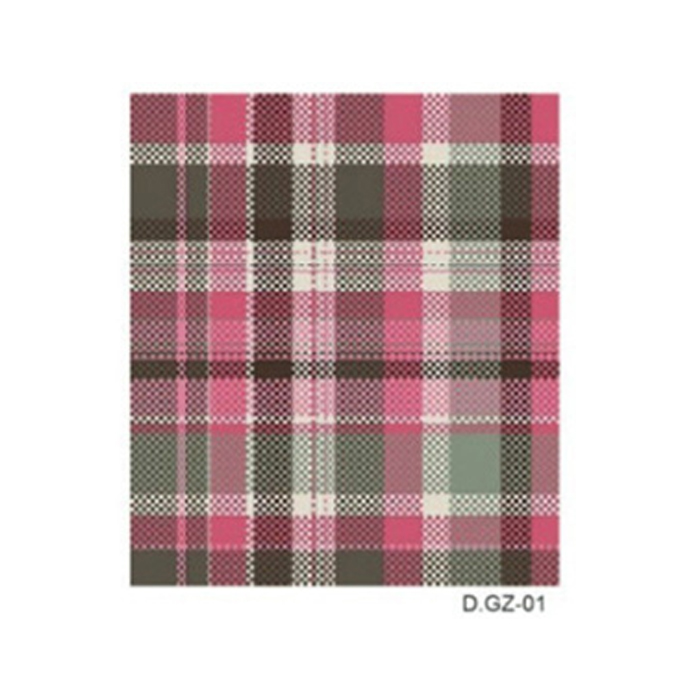2016 New England fashion plaid tweed coat pattern watermark nail decals DIY Nail beauty Nail design tools burst models Promotion(China (Mainland))