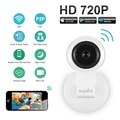 SANNCE 720P HD Wifi IP Camera Wireless 1MP Smart P2P Network Monitor CCTV Security Camera Home