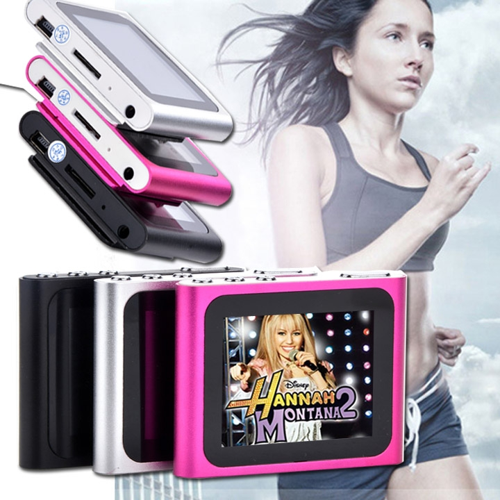 """6th Gen 1.8inch 1.8"""" LCD FM Radio Video Music Mp3 Mp4 Player Support 2G 4GB 8GB 16GB Card WMV format TFT 262K color screen"""
