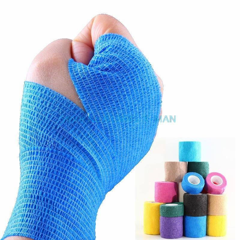 Width 50mm Fitness Muscle Tape Therapy Sports Safety Gym Bandage Tape Kinesiology Knee Support L338(China (Mainland))