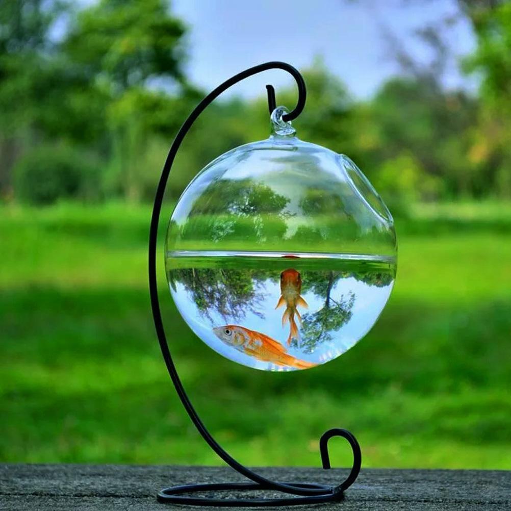 Popular round fish bowl buy cheap round fish bowl lots for Vase aquarium rond