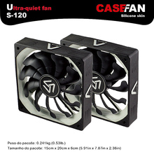 ALSEYE 2pieces 120mm fan for computer case 1200RPM 3pin radiator 12v fan cooling for cpu cooler / gaming case / water cooler(China (Mainland))