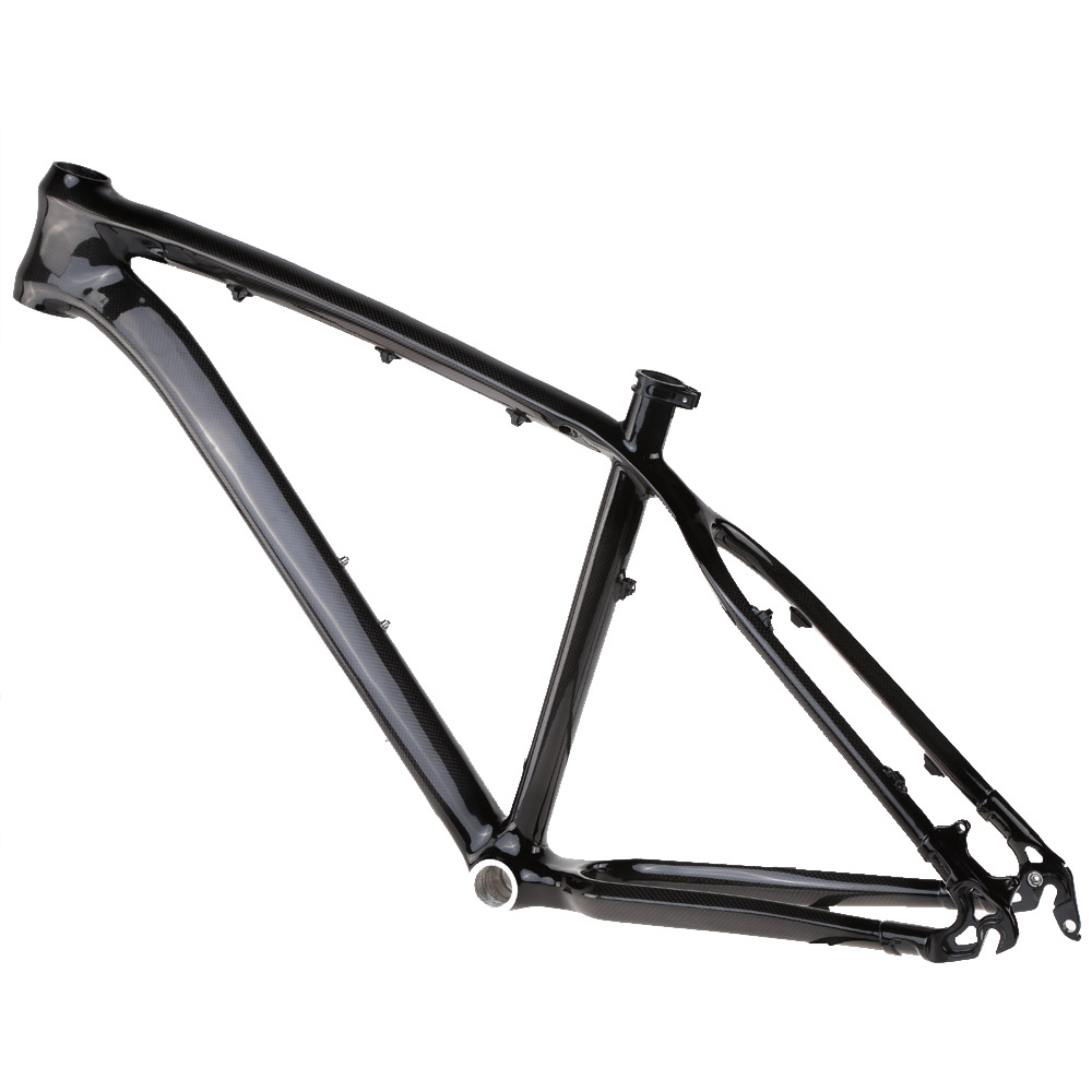 """17"""" Carbon Fiber MTB Mountain Bike Bicycle Frame High Quality Outdoor Road Bike Bicycle Carbon Frame for 26"""" Wheels(China (Mainland))"""