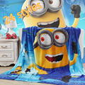 Children Cartoon pattern Coral fleece blankets can be as bedclothes the throws size 150 200CM Home