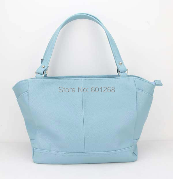H056 sky blue,Free shipping,new designer handbags, clutch bag, woman handbag, leather bags, wholesale, Ladies bags'manufacturer(China (Mainland))