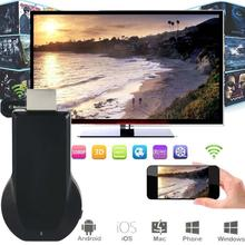 1080P MiraScreen WiFi Display Receiver AV Dongle DLNA Airplay Miracast HDMI miracast devices best miracast dongle APE(China (Mainland))
