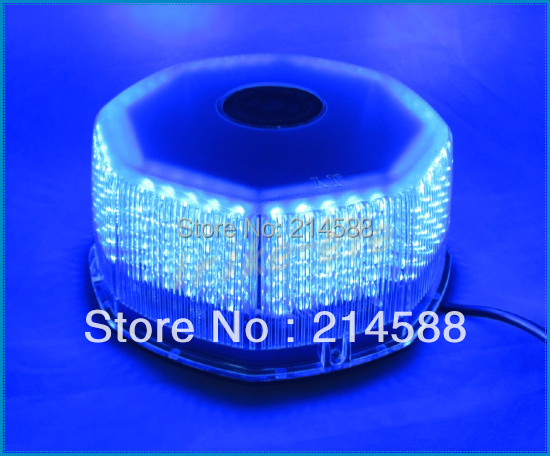 Super Bright DC12V Blue Car vehicle 240 LED Waterproof Magnetic Flashing Strobe Warning light Fireman Beacon Emergency Light - Pro Factory Store store
