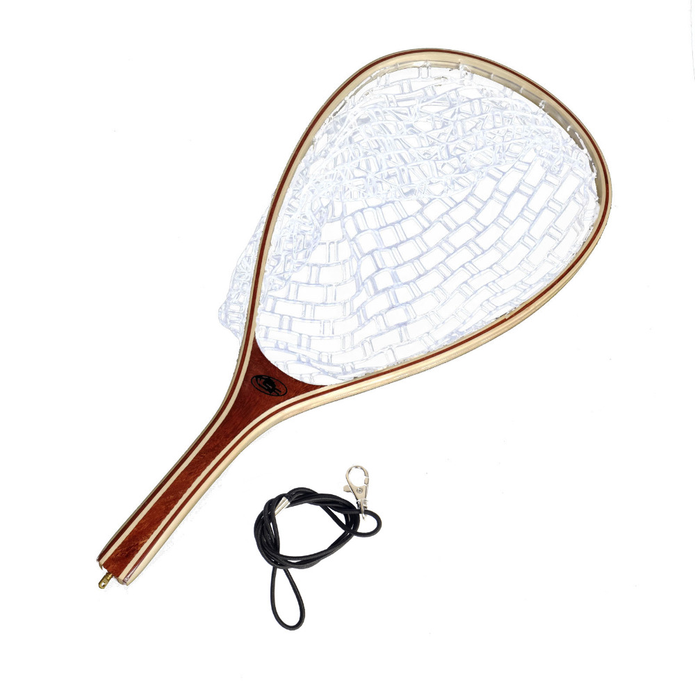 Sf fly fishing trout landing net rubber net catch and for Fishing landing net