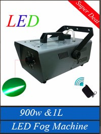 Hot 400w/0.3L Mini Fog Machine AC110/230V 50-60Hz & Drive-By-Wire Control Smoke Machine DJ/Party/Disco/Stage Fogger