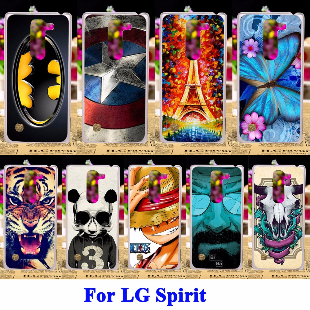 Soft TPU & Hard PC Phone Cases LG Spirit H440N C70 4G LTE H420 H440Y H422 Case Covers Skin Mobile Phone Shell Housing Bag