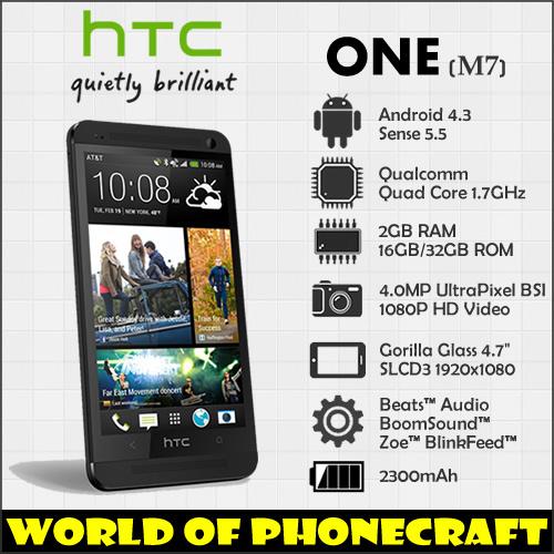 HTC ONE M7 Quad Core smartphones 1.7MHz 2G RAM Sense 6.0 NFC HTC ZOE Photograph UltraPixel Camera Phones(China (Mainland))