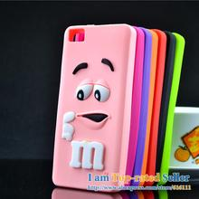 For BQ Aquaris M5 Case M&M'S Chocolate Candy Silicone Rubber Cases Covers Phone Case