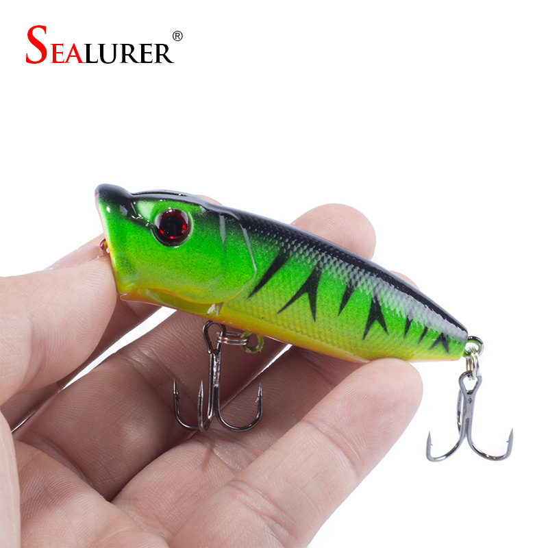 Promotion! Lot 5pcs Colors <font><b>Fishing</b></font> Lures Crankbait Minnow Hooks Crank Baits 65mm 13g poper lure topwater Free Shipping
