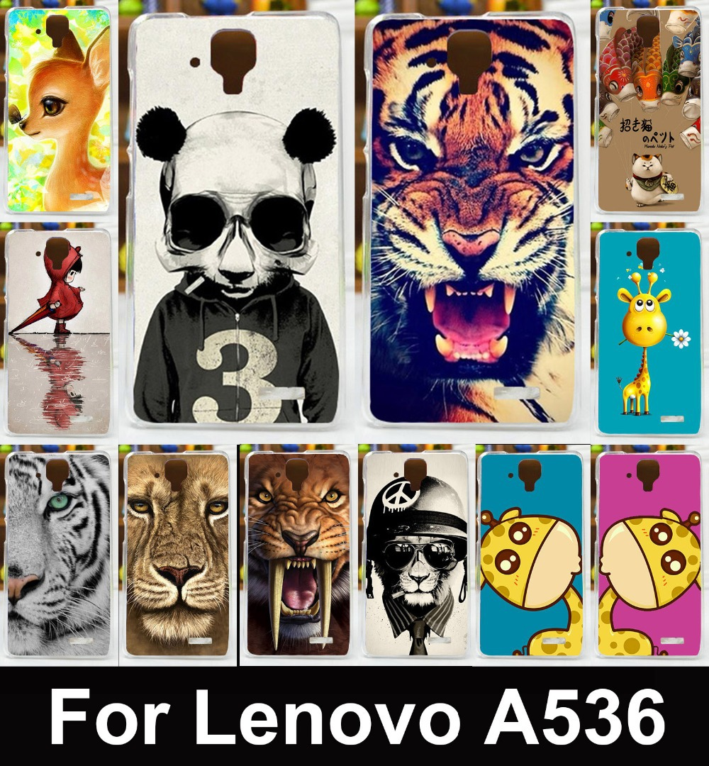 High quality Painted Case Mobile Phone Case bag back Cover Case hard back shell skin hood For Lenovo A536 A358T free shipping(China (Mainland))