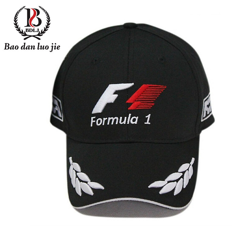 Adjustable Snapbacks Caps Baseball Cap Men and Women F1 Sport Hats 2015 New Fashion Hip Hop Snapback(China (Mainland))