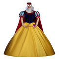Ainiel Cosplay Princess Snow White Dress Halloween Party Velvet Cosplay Costume CS341411
