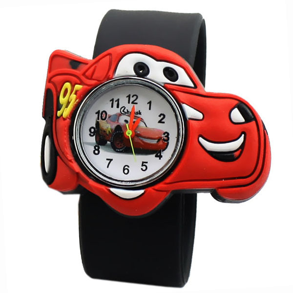 Гаджет  Cute Cartoon Watch Beautiful Candy Color Wristwatch Cool Plastic PVC Pops Table Kids Watches Best Style Gift for Kids Hot Clock None Ювелирные изделия и часы