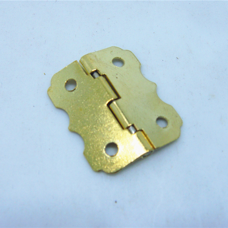 50pcs 25 * 20mmSmall hinge closing cabinet hinges butterfly hinge wooden wine box 90 degrees(China (Mainland))