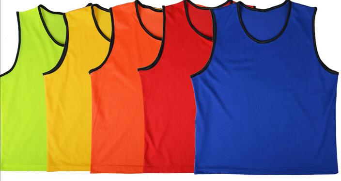 10pcs Men Adult Football Training Bib Vest Top Sports Clothing Rugby Hockey Team(China (Mainland))
