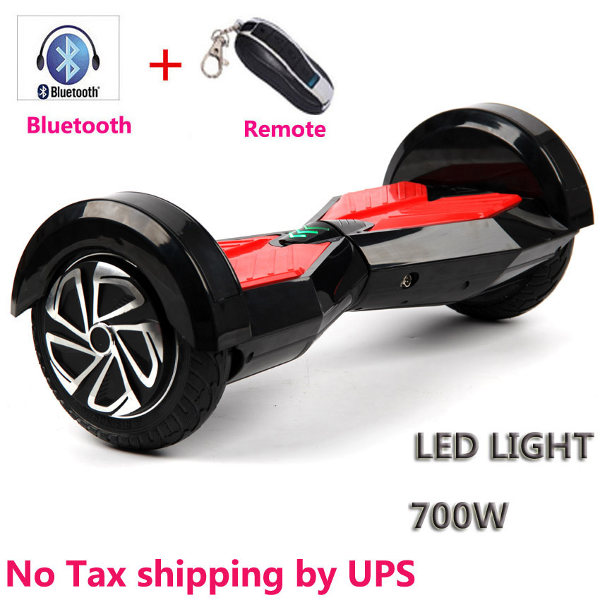 2016 Hot popular Self balancing scooter 8 inch hoverboard Bluetooth+Remote 700W Skateboard <font><b>Smart</b></font> Balance <font><b>Board</b></font> M14