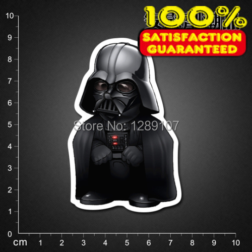 Star Wars Darth Vader 140623203 Luggage suitcase sticker waterproof sticker laptop stickers (single)(China (Mainland))