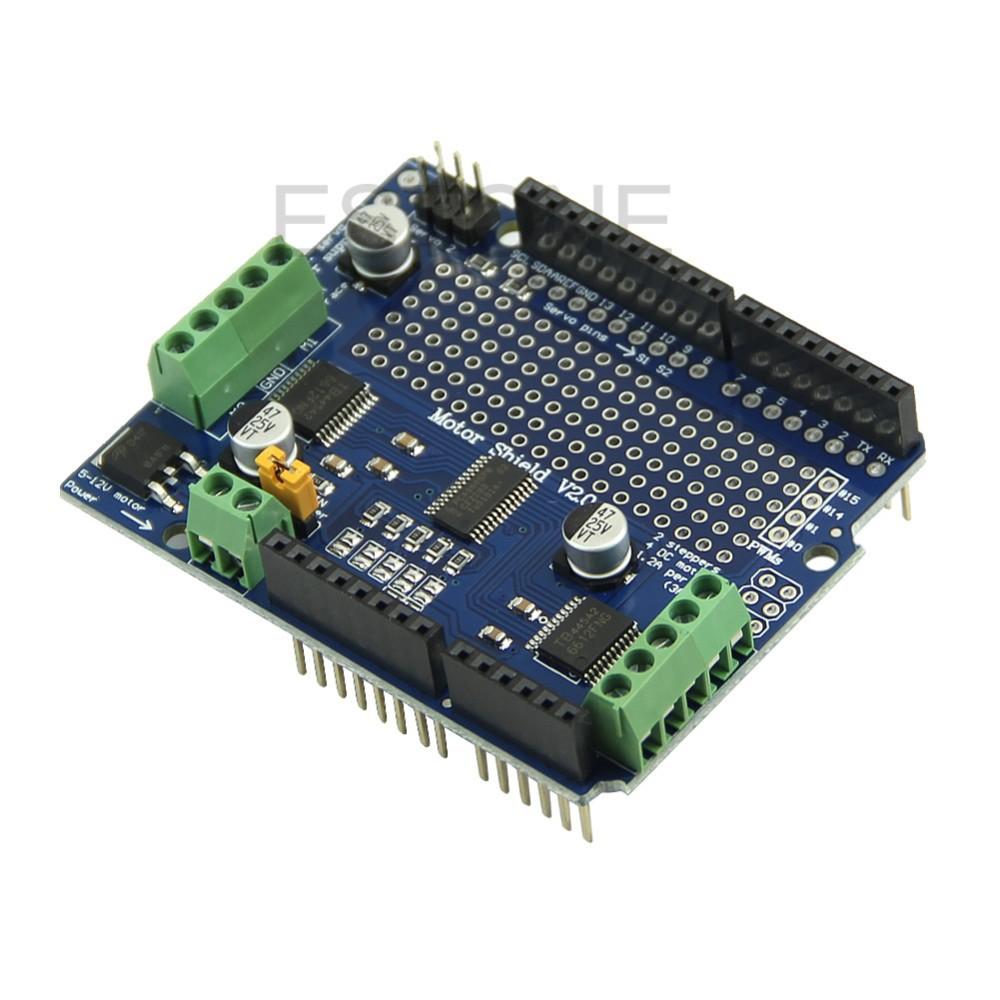 Motor/Stepper/Servo/Robot Shield for Arduino I2C V2 Kit w/PWM Driver Expansion Board