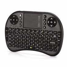 Mini Teclado Sin Hilos 2.4 GHz Fly Air Ratón con Touchpad Handheld Gaming tastiera Teclado para Tablet PC Android TV Portátil