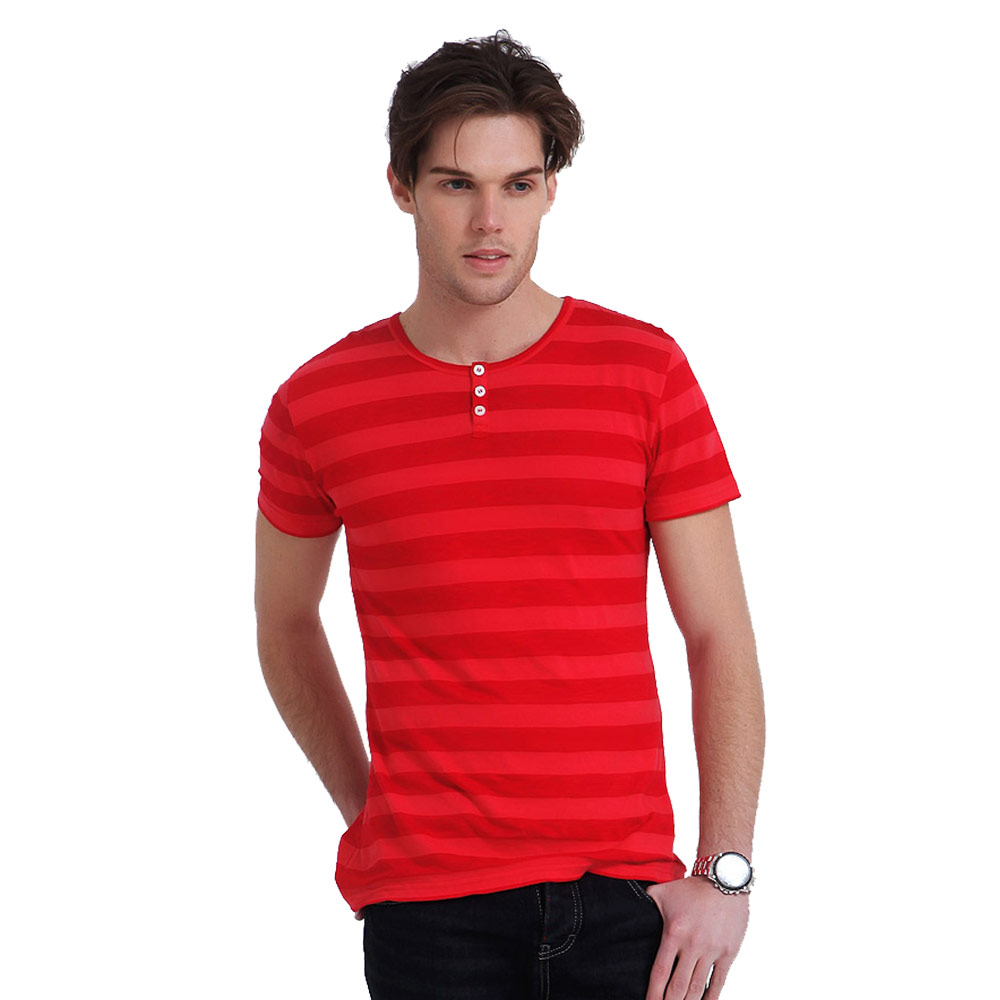 Lesmart summer mens short sleeve t shirt purified cotton for Mens business shirts sale