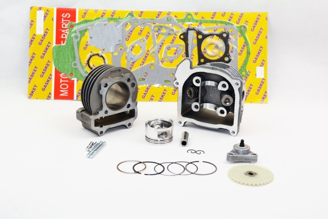 80cc Big Bore Kits 139QMB GY6 50cc Engine (64mm Valve) scooter parts @70001