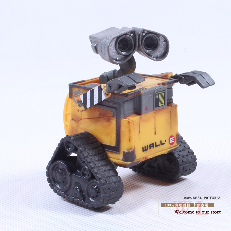 Free Shipping Wall-E Robot Wall E PVC Action Figure Collection Model Toy Doll 6cm OLD STYLE DSFG014(China (Mainland))